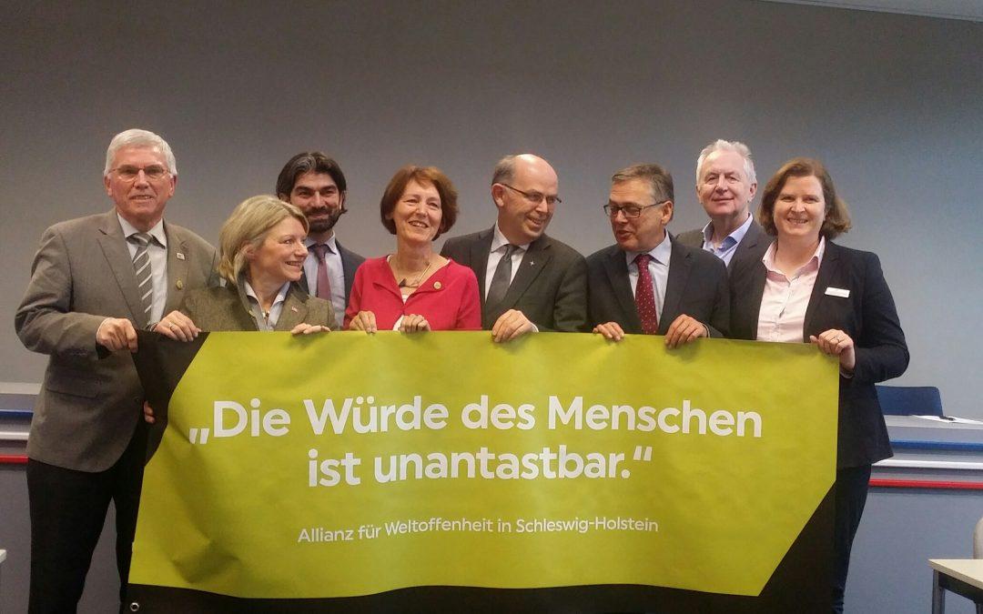Die neue Allianz für Weltoffenheit in Schleswig-Holstein