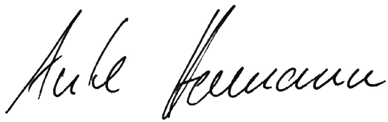 Unterschrift Anke Homann LandesFrauenRat